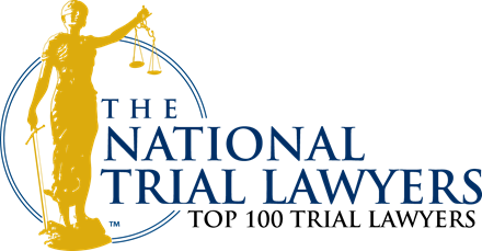 NATL Top 100 Lawyers Badge