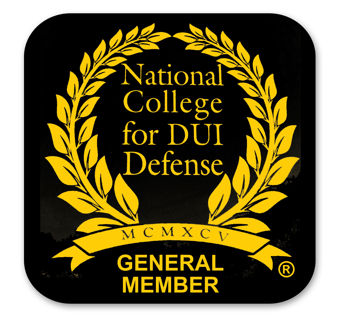 DUI Lawyer National College for DUI Defense Badge